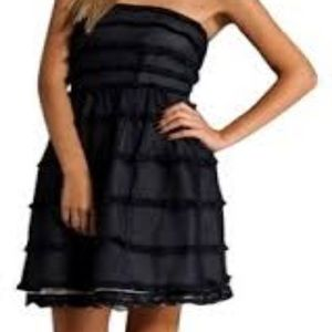 MARC by Marc Jacobs Strapless Ruffle Dress
